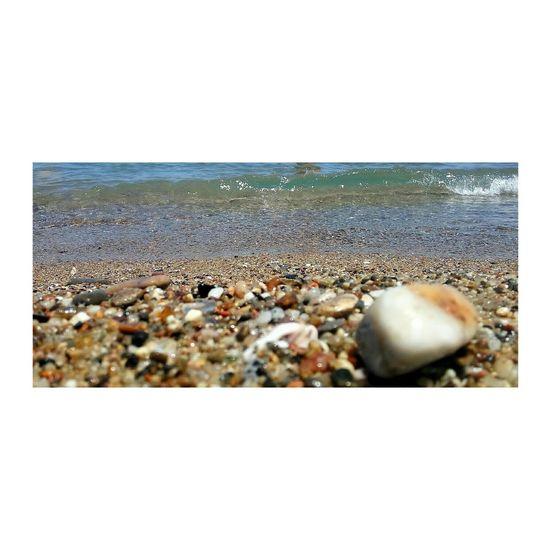 Barcelona, Spain No People Outdoors Horizon Over Water Water Day Scenics Beauty In Nature Close-up Sea Beach Nature Sand Pebble Beach Frame Sky Hotelvela HotelW 2017 EyeEm Awards The Photojournalist - 2017 EyeEm Awards Barceloneta