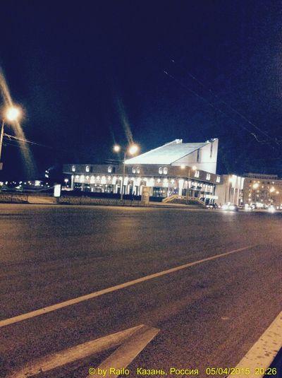 Театр города Казань) Теарт казань Ночь огниночногогорода Night Lights Kazan City улица красиво Night