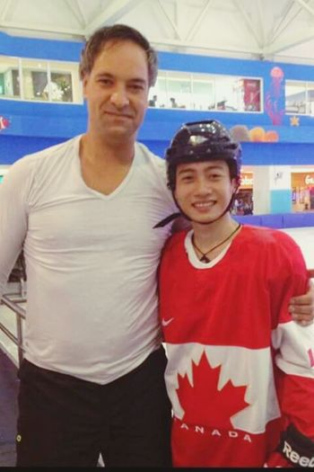 Hockey is my life and i love team Canada. I hope. I will go to canada. i'm from VietNam Ice Hockey Team Canada Watching Hockey Hockey Team