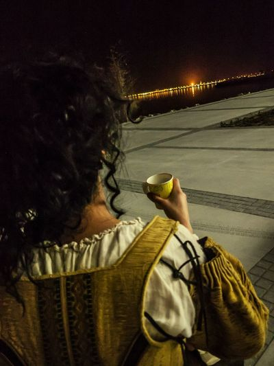 Opera singer in Bahrain Opera House Bahrain Abstract Oil Outdoors Out Outdoor Photography Night Night Lights Fire Vintage Reinassance Italian Opera House By Night