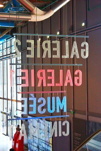 Paris Gallery Architecture Indoors  Pompidou Modern Art Gallery Modern Art Gallery Signboard BYOPaper!