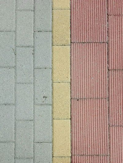 Lines and colors EyeEmNewHere Architecture Backgrounds Full Frame Yellow Textured  Pattern Close-up Parallel Stone Tile Paved Railroad Tie Walkway Detail Colorful The Architect - 2018 EyeEm Awards