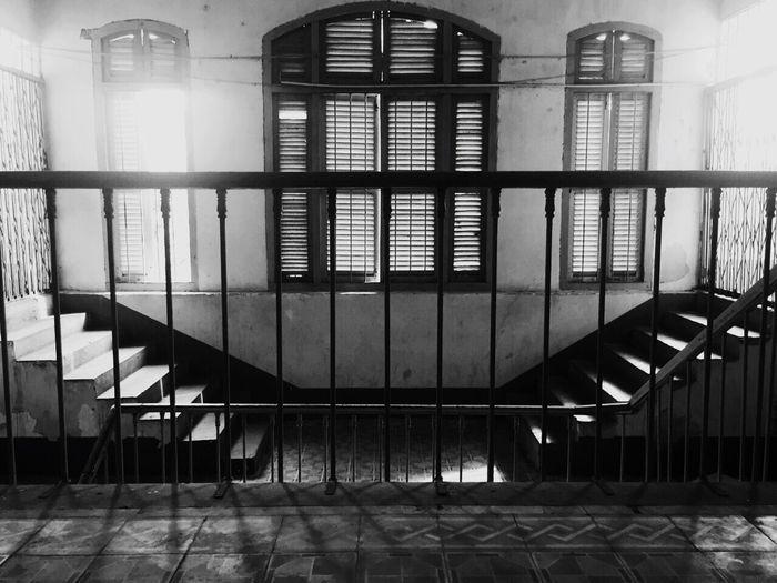 Stairways Chauvanliemhighschool Silent Moment Indochine Interior Design FrenchDesign Old High School Vietnam