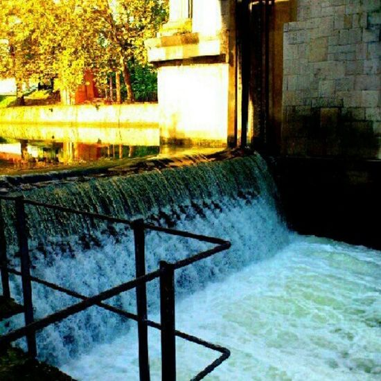 Water Concret Bright Sun
