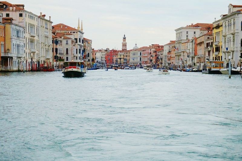 Water Nautical Vessel Canal Building Exterior Architecture Outdoors Gondola - Traditional Boat Travel Destinations Cityscape Day No People City Urban Skyline Sky Venice, Italy Vacations Live For The Story