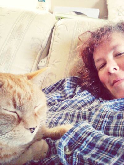 What Caturday's all about. Relaxing Hanging Out That's Me CaturdaySelfies