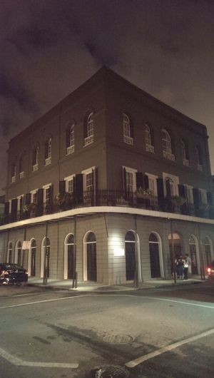 Haunted New Orleans. No Edit