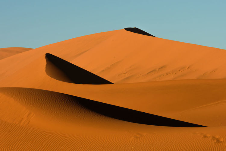 Beauty In Nature Desert Dunes EyeEm Landscape EyeEm Nature Collection Landscape Photography Landscape_Collection Landscape_photography Namibia No People Orange Color Pattern Patterns In Nature Shadows Shadows & Lights Sossusvlei Sunrise Sunrise_Collection Tranquility