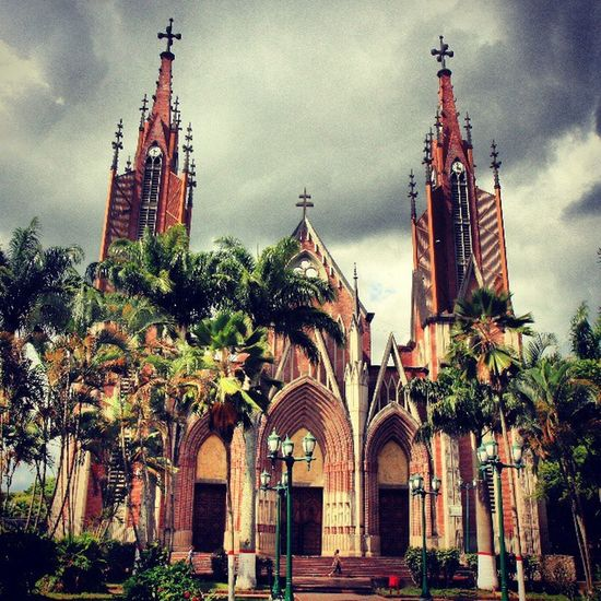 Iglesia de Santa Bárbara en Rubio Tachira  Venezuela Igerssc IgersVenezuela Ig_tachira IG_Venezuela Venezuelaes Instavenezuela Insta_ve