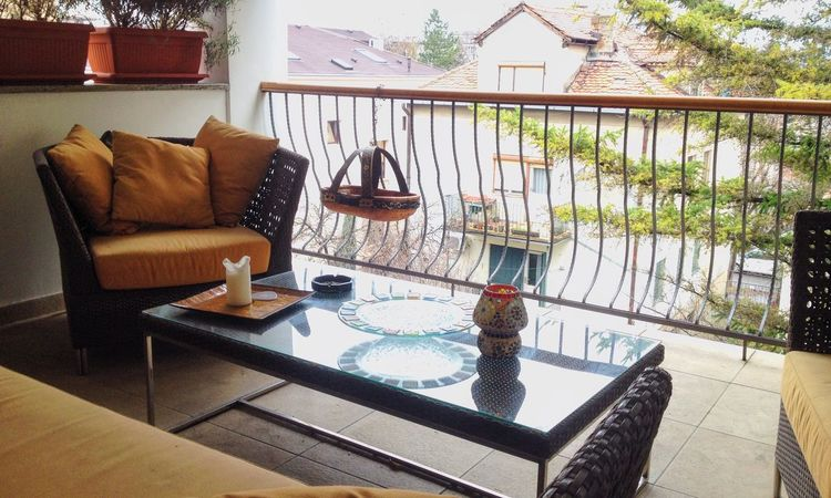 Arrangement Balcony Chair Day Home Large Group Of Objects No People Table Wood