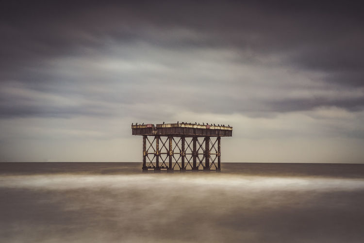 Sizewell Beach, Leiston Vignette Architecture Beach Beauty In Nature Building Exterior Built Structure Cloud - Sky Day Horizon Over Water Long Exposure Lookout Tower No People Outdoors Sea Sky Tranquil Scene Tranquility Water EyeEmNewHere