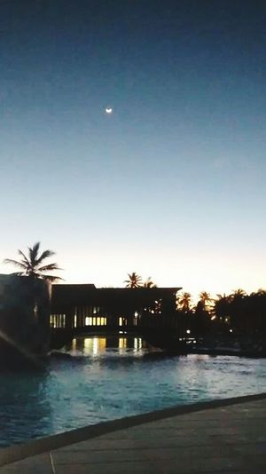 Moonlight Moody Sky Moon Shots Pool Moon Poolnight Stars & Dreams