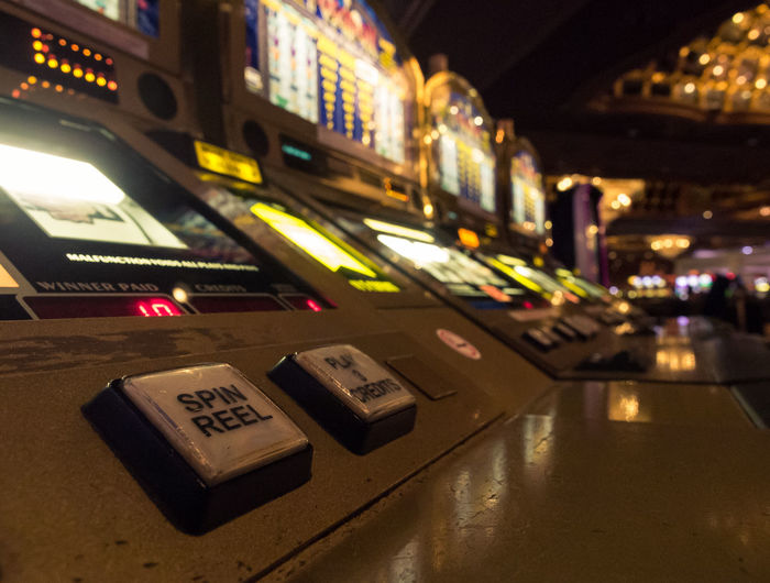 Atlantic City Casinos by Night Addiction Atlantic City Casino Casino Night Close-up Gambling Gambling Addiction Gambling Hall Las Vegas Slot Slot Machine Spinreel