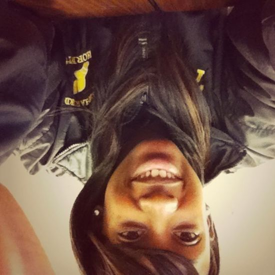 Today During Study Hall . Idk Why The Picture Turned Upside Down
