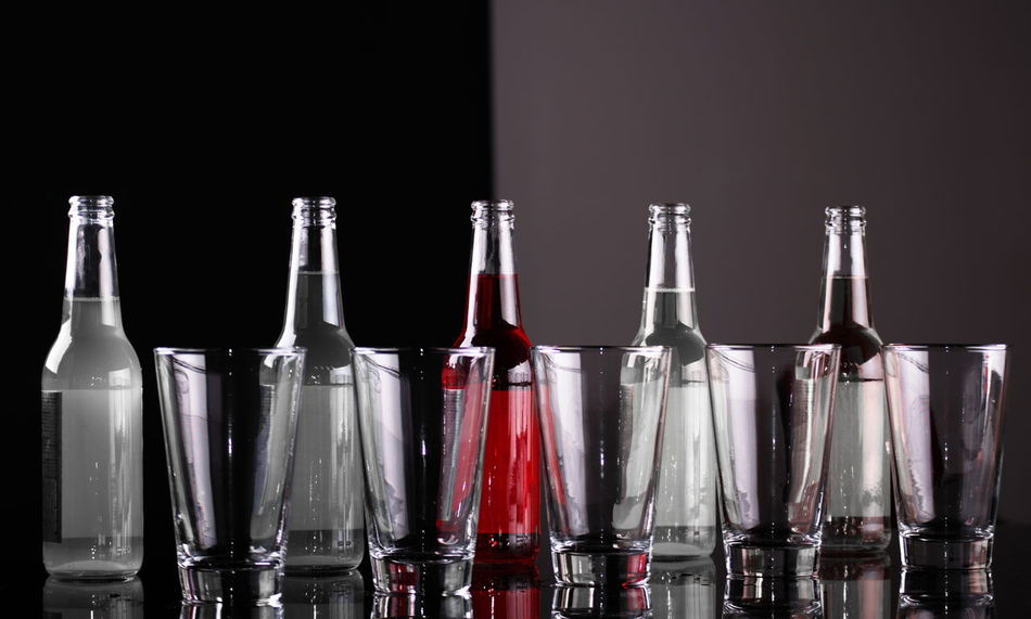 Glass Objects  Alcohol Bottle Bottles Collection Drink Freshness Glass - Material Glass Bottles No People Studio Shot
