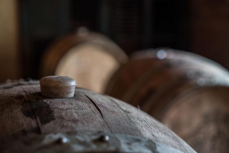 Barrels Close-up Cork Day Indoors  No People Selective Focus Wine Wine Cask Wood - Material Wood Barrel One Step Forward Wine Making Wine Making Equipment Cork - Stopper Storage Metal Bracket Aging Process