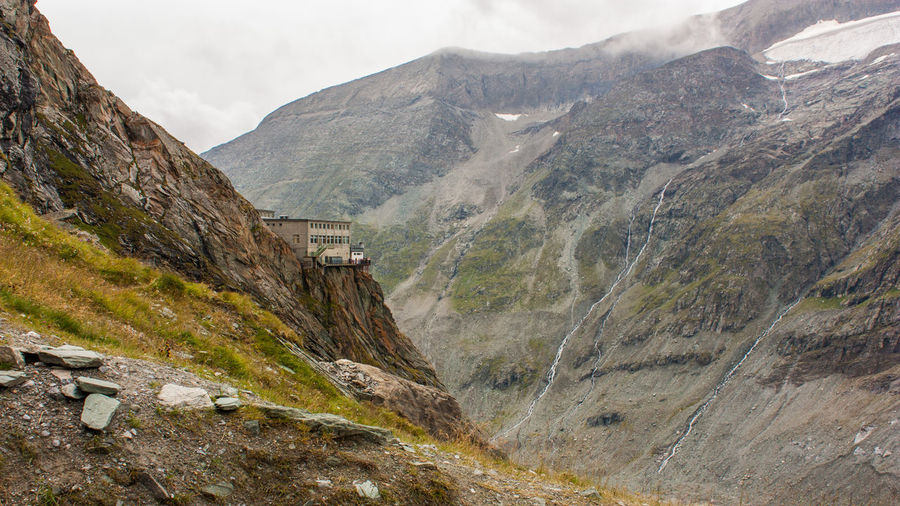 Austria Freiwandeck Gletscherrestaurant Grossglockner Alps Beauty In Nature Day Glacier Landscape Mountain Mountain Range Mountains Nature Outdoors Restaurant Scenics