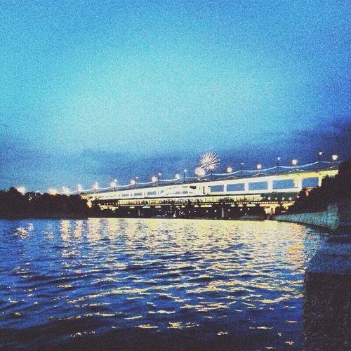 New Year's Eve Fireworks Moscow City Gorkiy Park Fireworks Happynewyear Uraa ♡ ★★★ ♣♧♣♧