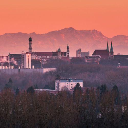 Cityscape of augsburg