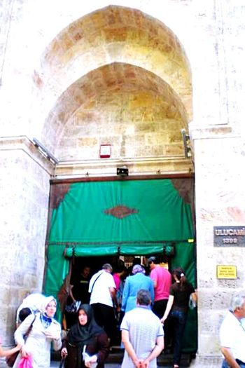 Turkey Bursa Mosque Ulucamii Old Buildings Door