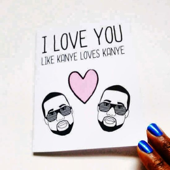 How romantic ❤️ Kanye Kanyewest Romantic Love valentine valentinesdaypresent valentinesday present card sweet funny tbt instalove instagood instasweet instadaily