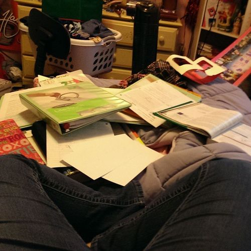 IM GONNA NEED A BIGGER BED! Toomuchhomework Exhausted !