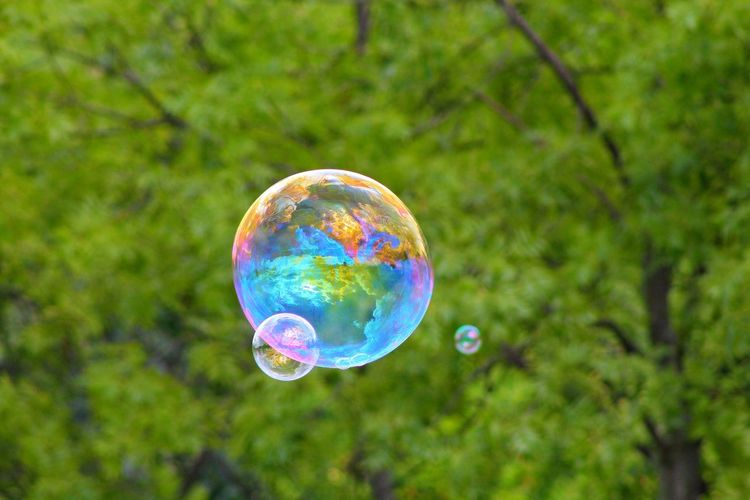 #Bubbles #Creativity  #Nature  #canon Photography #colours #green #photography #rainbow 300mm First Eyeem Photo