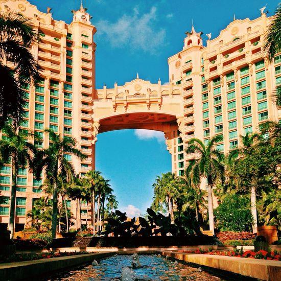 Bahamas Atlantis, Bahamas.  Photowalk Good Morning