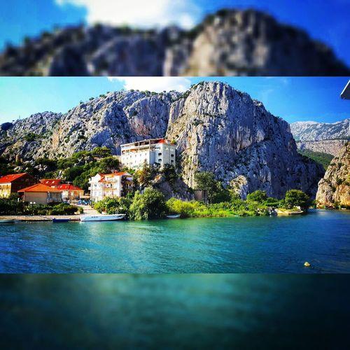 Omis Croatia Beautiful Scenery Shots Mountains Photography Photooftheday River Cetina