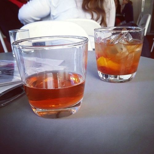 Happy hour! Sazerac Oldfashioned