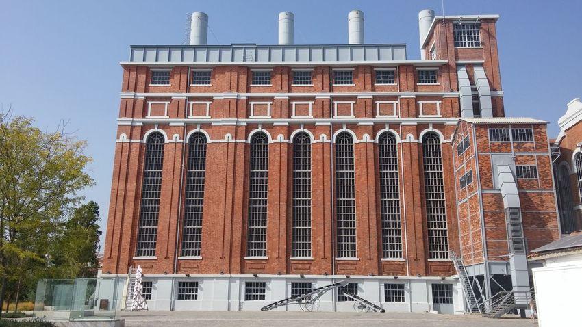 Antigo Museu da Electricidade Brick Building MAAT Museum Museu Da Eletricidade Architecture Building Exterior Built Structure Brick Wall Façade Historic Building