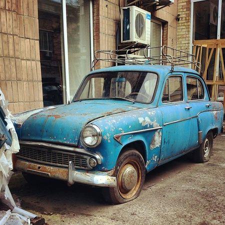 Забытый автотреш олдскул Autotrash Old_car kiev oldschool дневник_наблюдателя