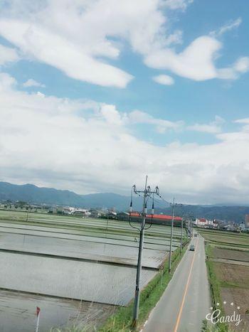 Sky Road The Way Forward Cloud - Sky Day Mountain Fukuoka Fukuoka,Japan