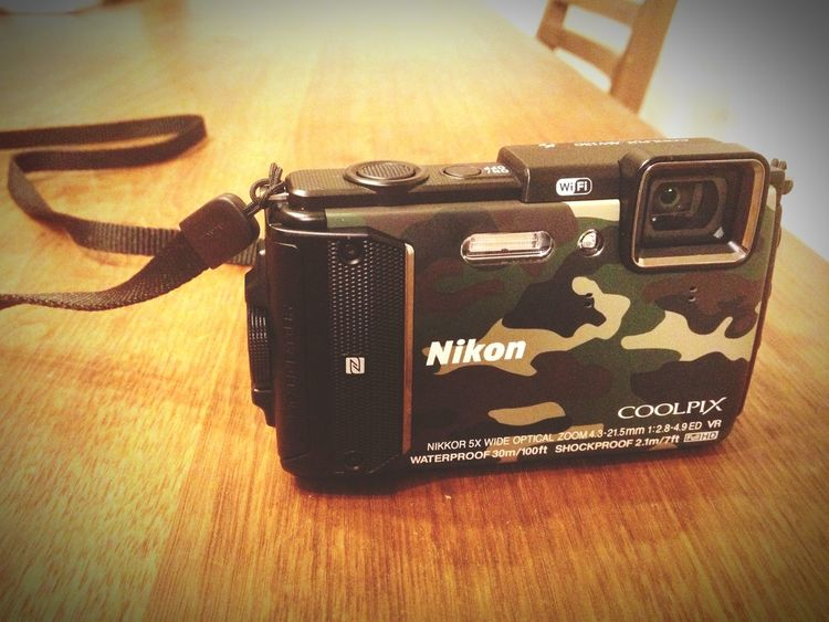 見た目買いしてしまった Nikon Coolpix AW130 海の中を撮りに行きます。
