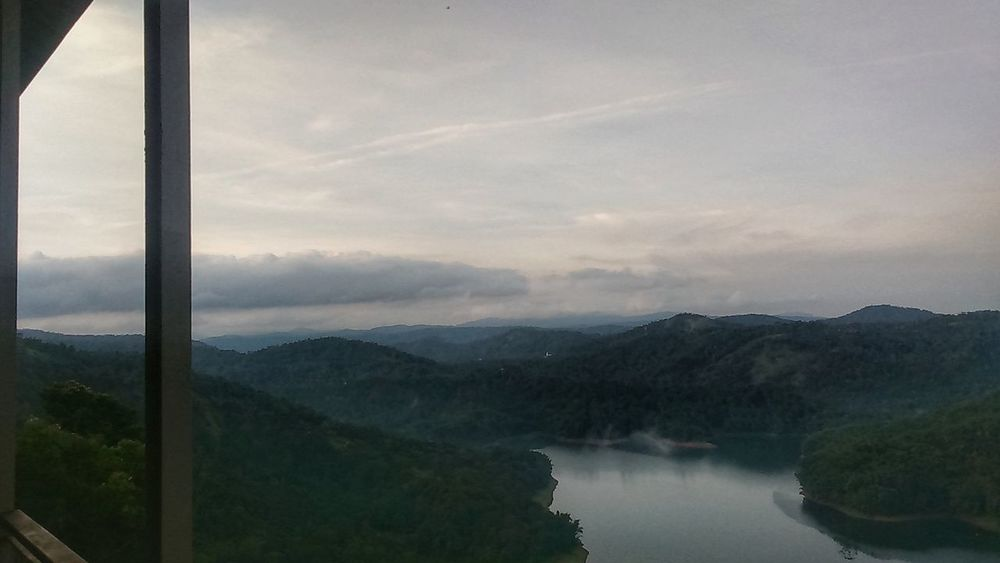 Mountain Lake Landscape Reflection Fog Tree Scenics Forest Water Sky Cloud - Sky No People Outdoors Day Dramatic Sky EyeEmNewHere Munnar Kerala Kerela Trip EyeEm Best Shots Incredible India Nature Beauty In Nature