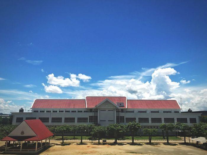 Architecture Sky Built Structure Building Exterior Building Cloud - Sky Blue