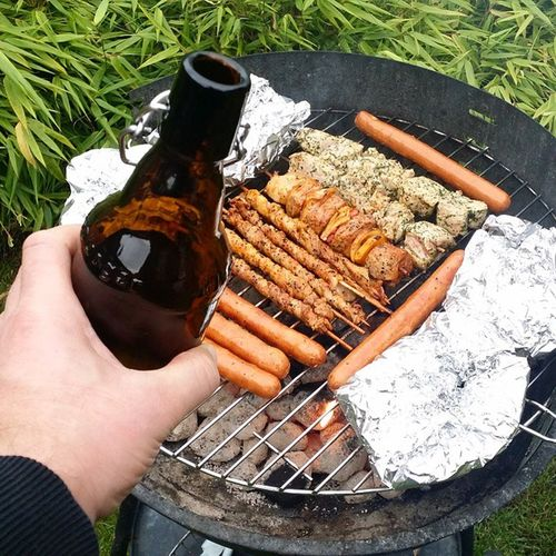Ich geb den Sommer noch nicht auf! Fleisch Novegan Grillen Barbecue Nofilter Fleischgram Real Summer