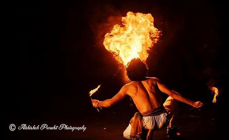 Jodhpur RIFF 2015 opening night Photographie  Rajasthan Like4like Igersjodhpur Instajaipur Fire Jodhpuri Jodhpurriff2015 Performer