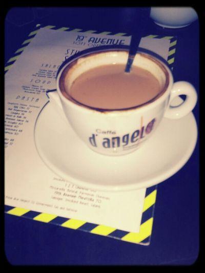 Enjoying Life Coffee Time