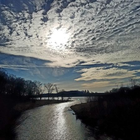 Water Sky Nature Beauty In Nature Scenics Cloud - Sky Outdoors Naturephotography Naturelovers Beauty In Nature Nature_collection Nature Photography Naturechaser Tranquility Landscape Sun Optoutside Reflection Mysky Myview Skylovers Minnesota Mychurch Hello Friends Nature_perfection