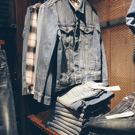 Indoors  No People Day Kyoto Jeans Jeansjacket Jeans Shopping Menstyle Men's Fashion Menswear