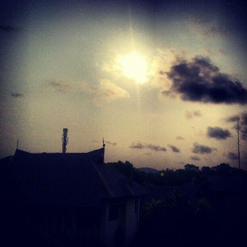 Cityscape Balikpapan Silhouette