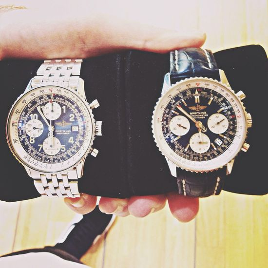 Watches Navitimer collection Enjoying Life :)