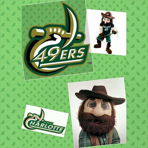 I rep my Almamater FORTY NINERS and our mascot norm the miner UNCC Unccharlotte Stakeyourclaim @zetasof_charlotte Dzscholarship Zetasofcharlotte Repmyschool