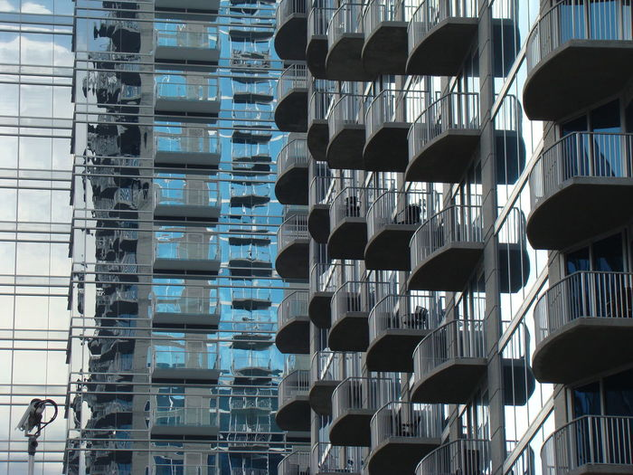 Abundance Architecture Arrangement Building Built Structure City Day In A Row Modern No People Repetition Side By Side