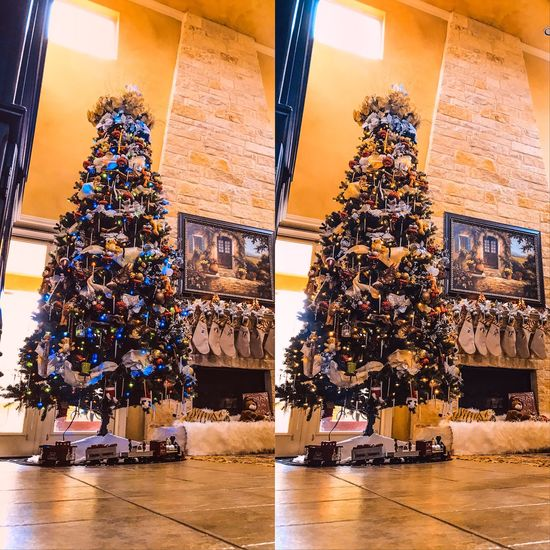 Everything is bigger in texas 12 ft Christmas tree Christmastree Indoors  Retail  Store Architecture Christmas Consumerism Illuminated Christmas Decoration first eyeem photo