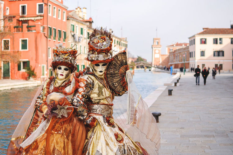 Architecture Building Exterior Carnival Carnival Crowds And Details Carnival Of Venice Carnival Spirit City Cultures Day End Of Winter February Italia Italy Mask Masks Masque Masquerade Outdoors Town Square Travel Destinations Venetto Venezia Venice Venice Beach Venice Carnival