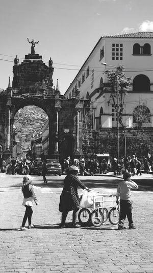 Travel Photography Cusco Peru Streetphotography Local Food Blackandwhite Road Light And Shadow Old Buildings Historical Building