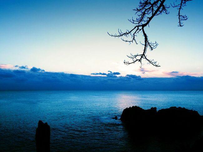 Sunrise Sea 唐桑半島 巨釜 PENTAX Q