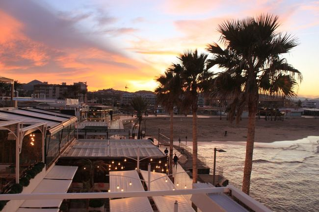 Visit Javea Holiday Spanish Beach Sunset Sky Architecture Built Structure Building Exterior Outdoors Beauty In Nature